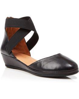 Ankle Strap Demiwedges - Noa
