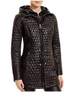 Coat - Mermaid Quilted Zip Bib