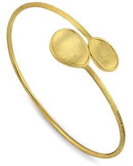 18k Yellow Gold Lunaria Cuff
