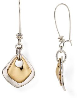 Shepherd's Hook Drop Earrings
