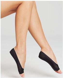 Perfect Edge Peep Toe Liner Socks