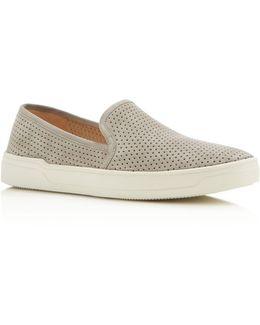 Galea Perforated Slip-on Sneakers
