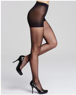 Infinite Sheer Control Top Tights