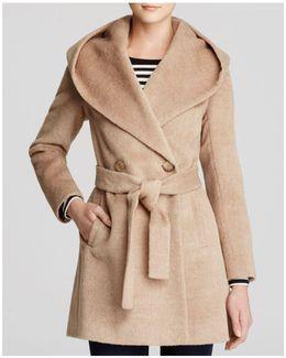 Grace Hooded Alpaca Coat