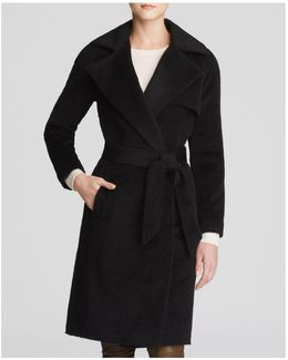 Delaney Alpaca Wrap Coat