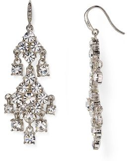 Pavé Chandelier Earrings