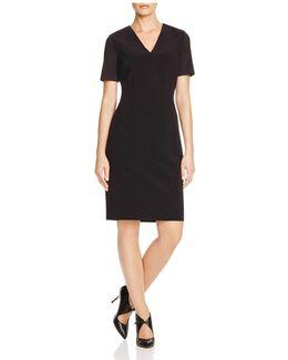Mikayla Contrast Sleeve Dress