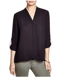 Taylor Roll Sleeve Blouse