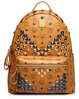 Medium Stark Leather Backpack