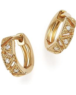 Kathryn Lynn Huggie Hoop Earrings