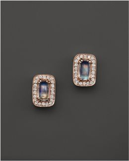 Sylvie Rose Moonstone Stud Earrings