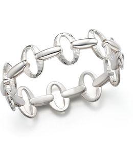 Sterling Silver Glamazon® Small Oval Link Bracelet