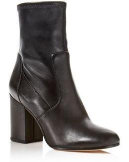 Benita High Heel Booties