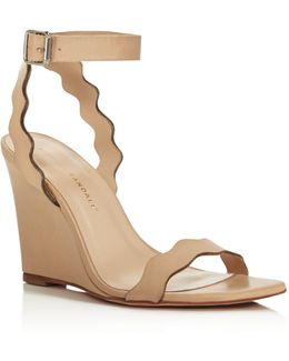 Piper Wedge Wheat Leather