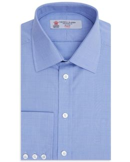 Prince Of Wales Plaid Classic Fit Dress Shirt