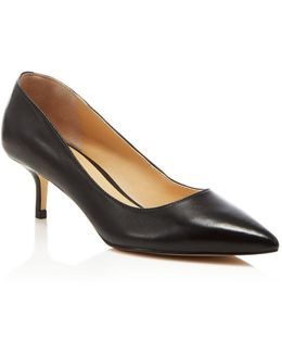 Athyna Leather Pumps