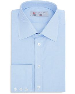 Micro Check Classic Fit Dress Shirt