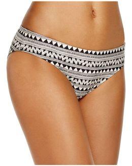 Maharaji Border Hipster Bikini Bottom