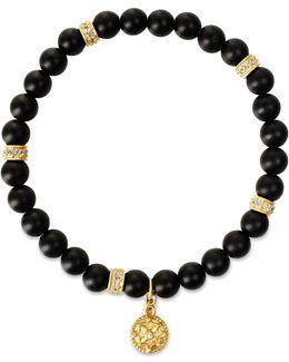 Matte Onyx Stretch Bracelet
