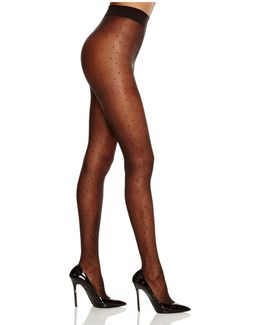 Pin Spot Sheer Tights