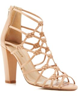 Scandal Knotted High Heel Sandals