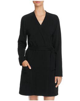 Belted Stretch Jersey Robe