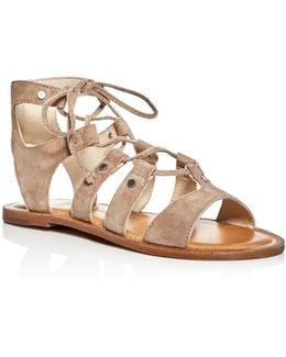 Jasmyn Lace Up Sandals