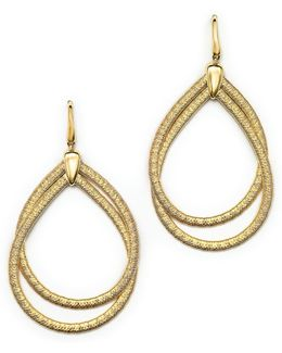 18k Yellow Gold Cairo Drop Earrings