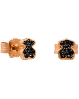Spinel Bear Stud Earrings