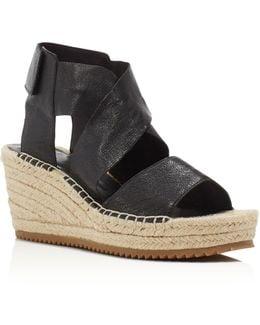Willow Espadrille Platform Wedge Sandals