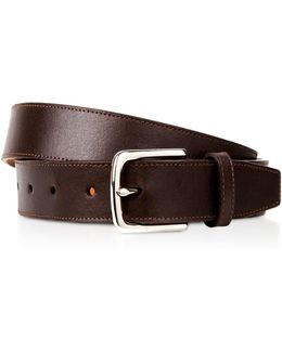 Buffed Leather Belt
