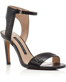 Linna High Heel Ankle Strap Sandals