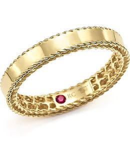 18k Yellow Gold Symphony Braided-edge Ring