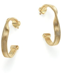 18k Yellow Gold Marrakech Supreme Hoop Earrings