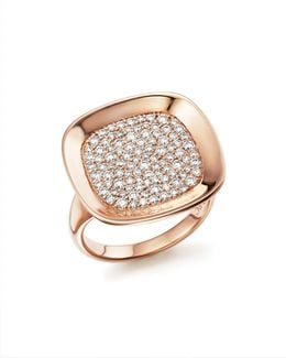 18k Rose Gold Carnaby Street Diamond Ring