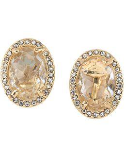 Button Clip-on Earrings
