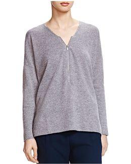 Zip Front Sweater