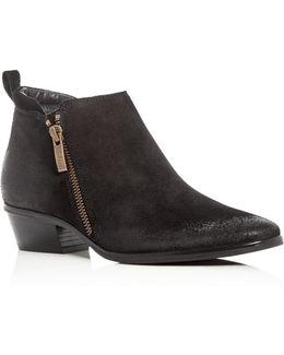 Jillian Suede Ankle Boots