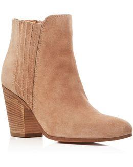 Maci Almond Toe High Heel Booties