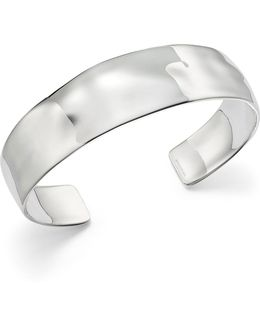 Sterling Silver Sensotm Textured Surface Cuff