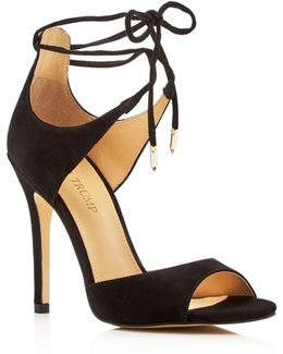 Holidae Lace Up High Heel Sandals