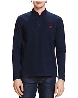 New Shiny Piqué Long Sleeve Classic Fit Polo