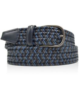 Leather Braid Belt