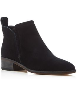 Tessey Low Heel Booties