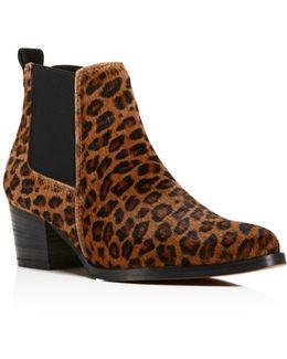 Russie Leopard Print Calf Hair Chelsea Booties - 100% Bloomingdale's Exclusive