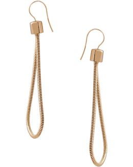 Loop Drop Earrings