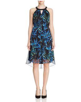 Zadie Tropical Print Dress