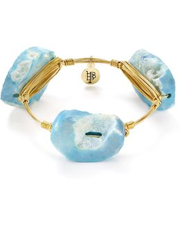 Blue Agate Bangle