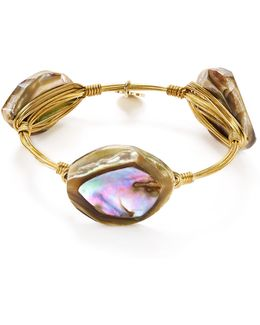 Abalone Shell Bangle