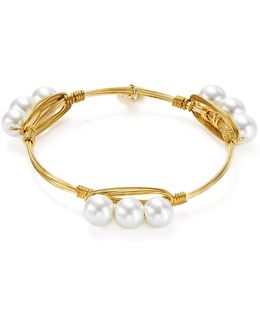 Cultured Freshwater Pearl Bangle